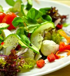 Čočkový salát s paprikami