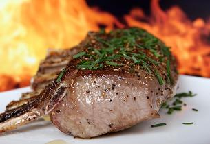 Skopové maso na majoránce