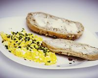Šlehaná vejce s paprikou